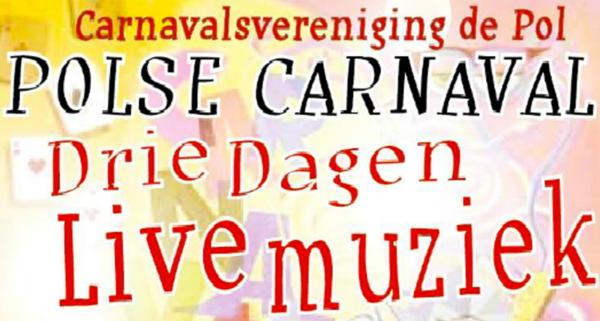 Polse Carnaval: 3 dagen live muziek